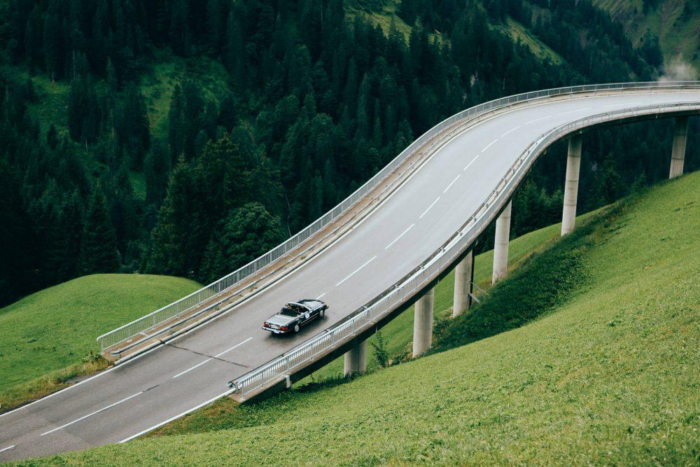 Arlberg Autofahren
