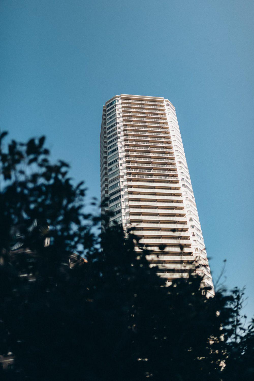 Hochhaus in Tokio