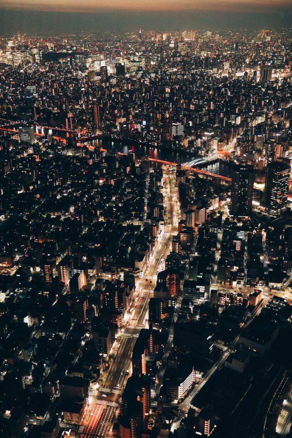 Tokio Skyline