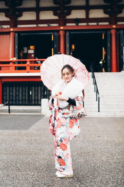 Tokio Geisha umbrella