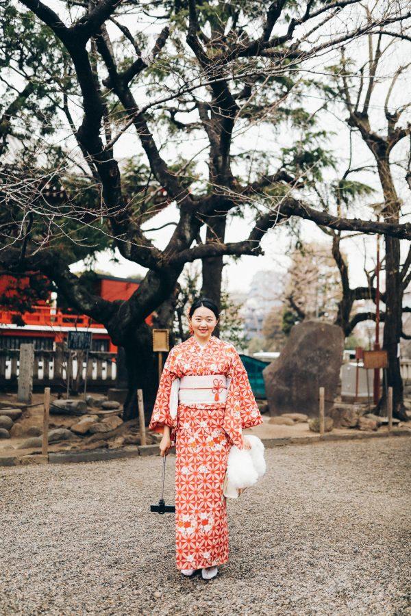 Tokio Geisha portrait