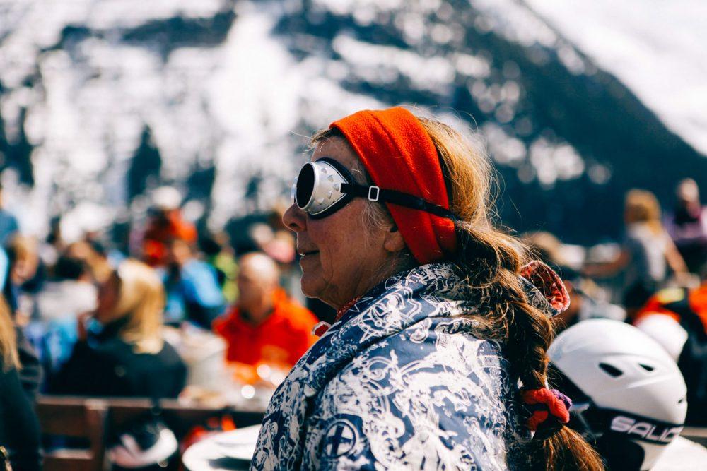 Lech am Arlberg Frau
