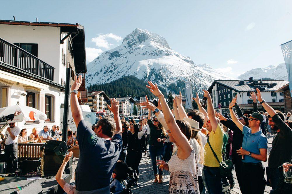 Tanzcafe am Arlberg Lech