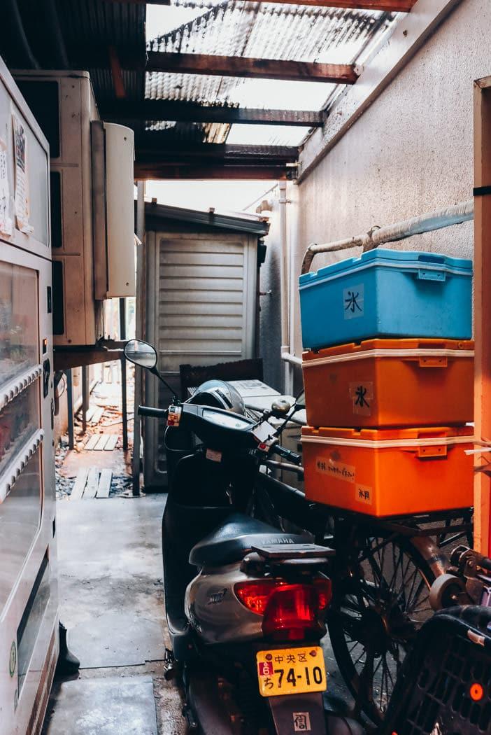 Markt in Tokio