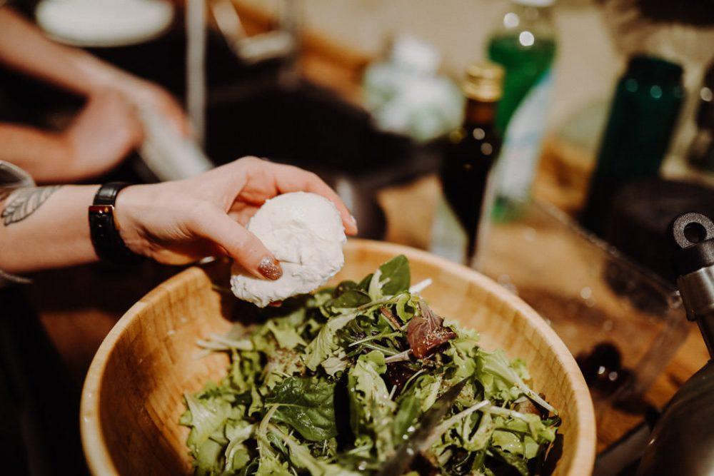 mozarella salat