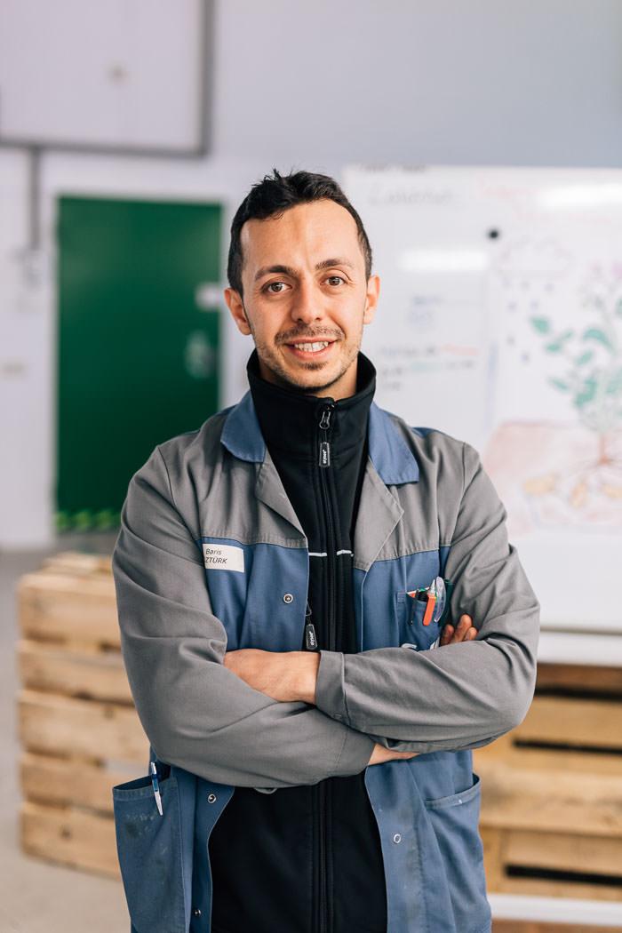 Mitarbeiter Portrait Collini