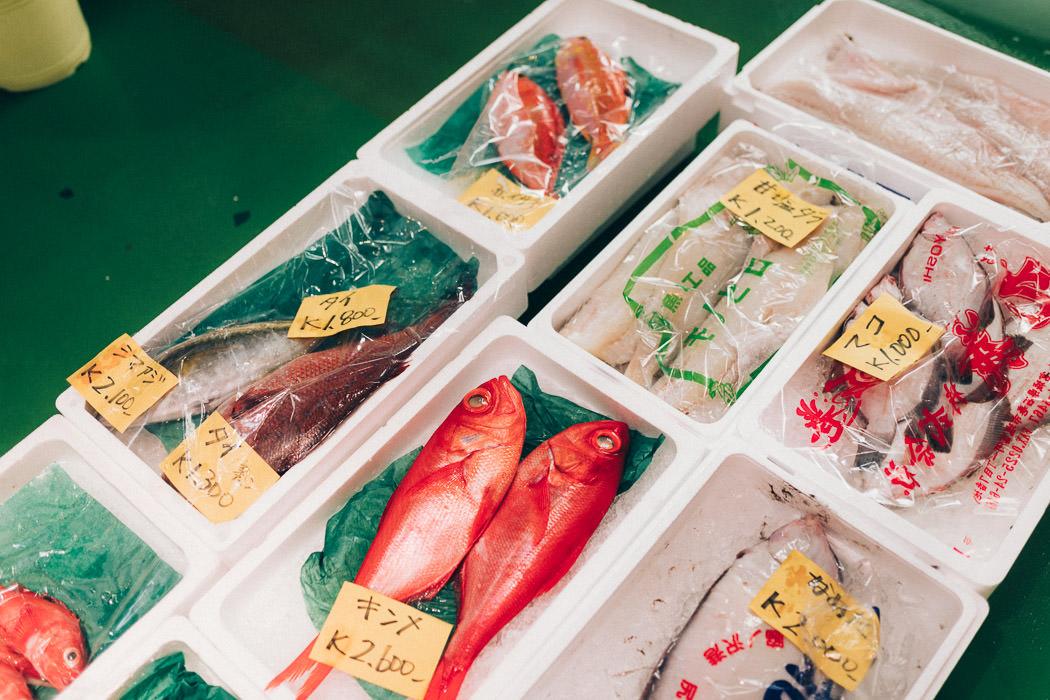 fische in Tokio