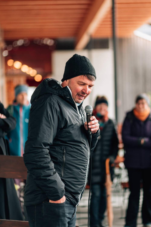 Lustenau Bürgermeister Ansprache