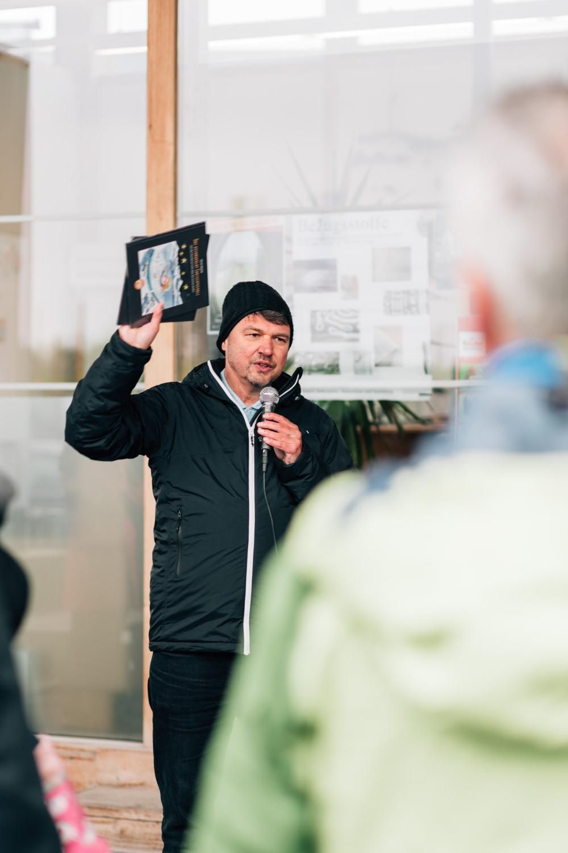 Lustenau Bürgermeister redet