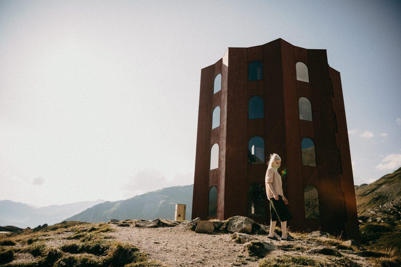 Alpen Landschaft Berge Shooting Portraitsfotografie