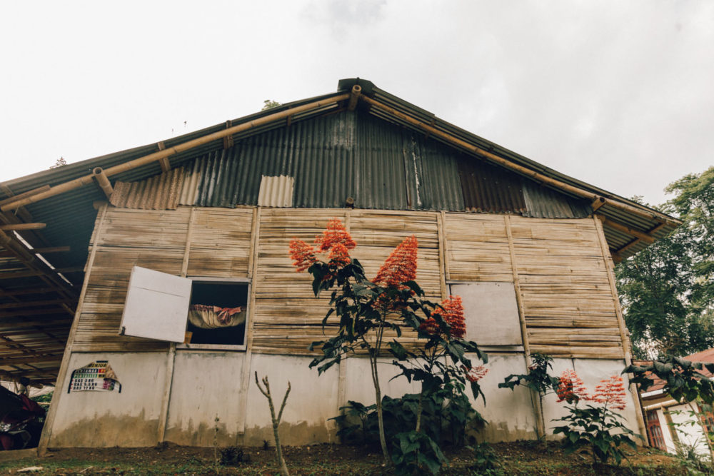Indonesian village house