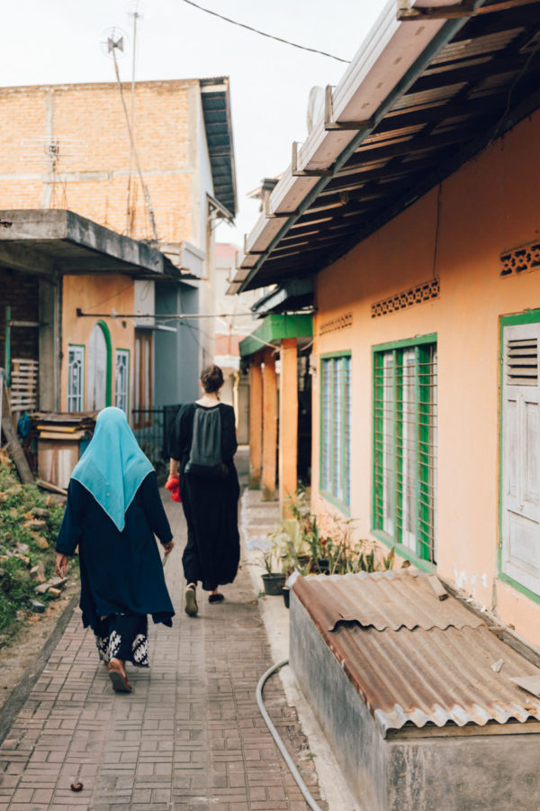 Indonesian streets