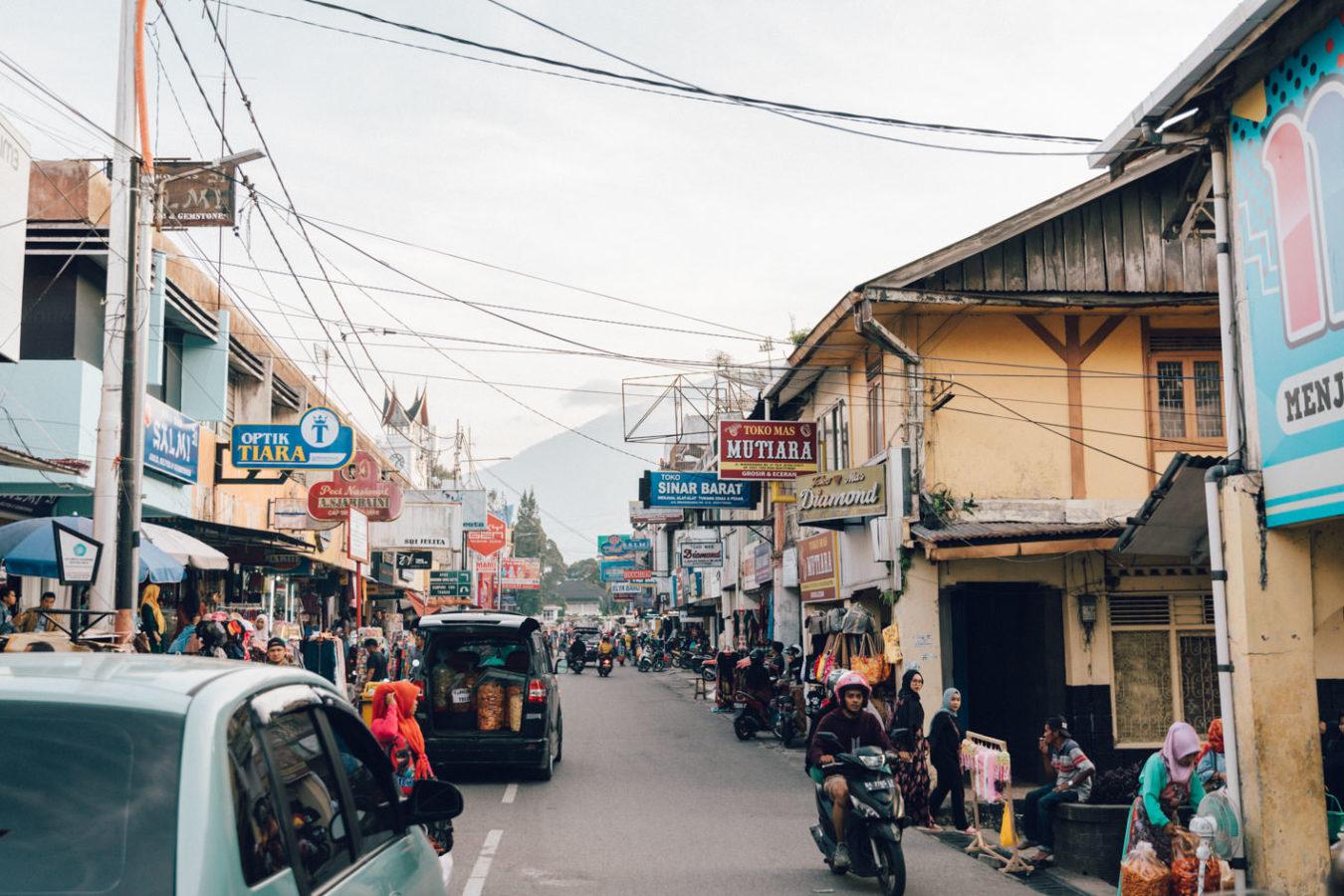 west sumatra villages