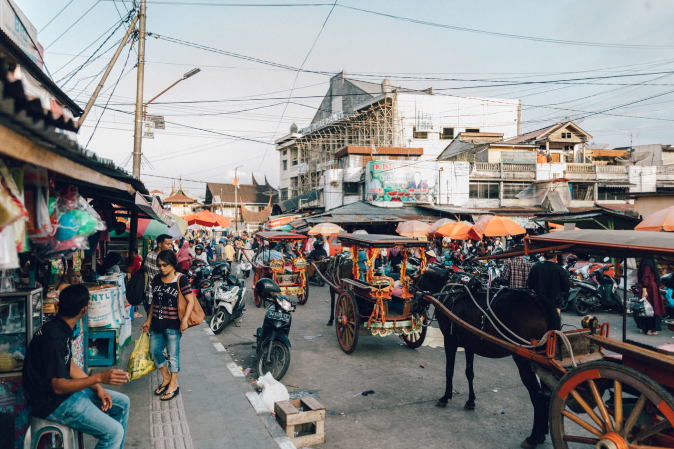 market in indonesia