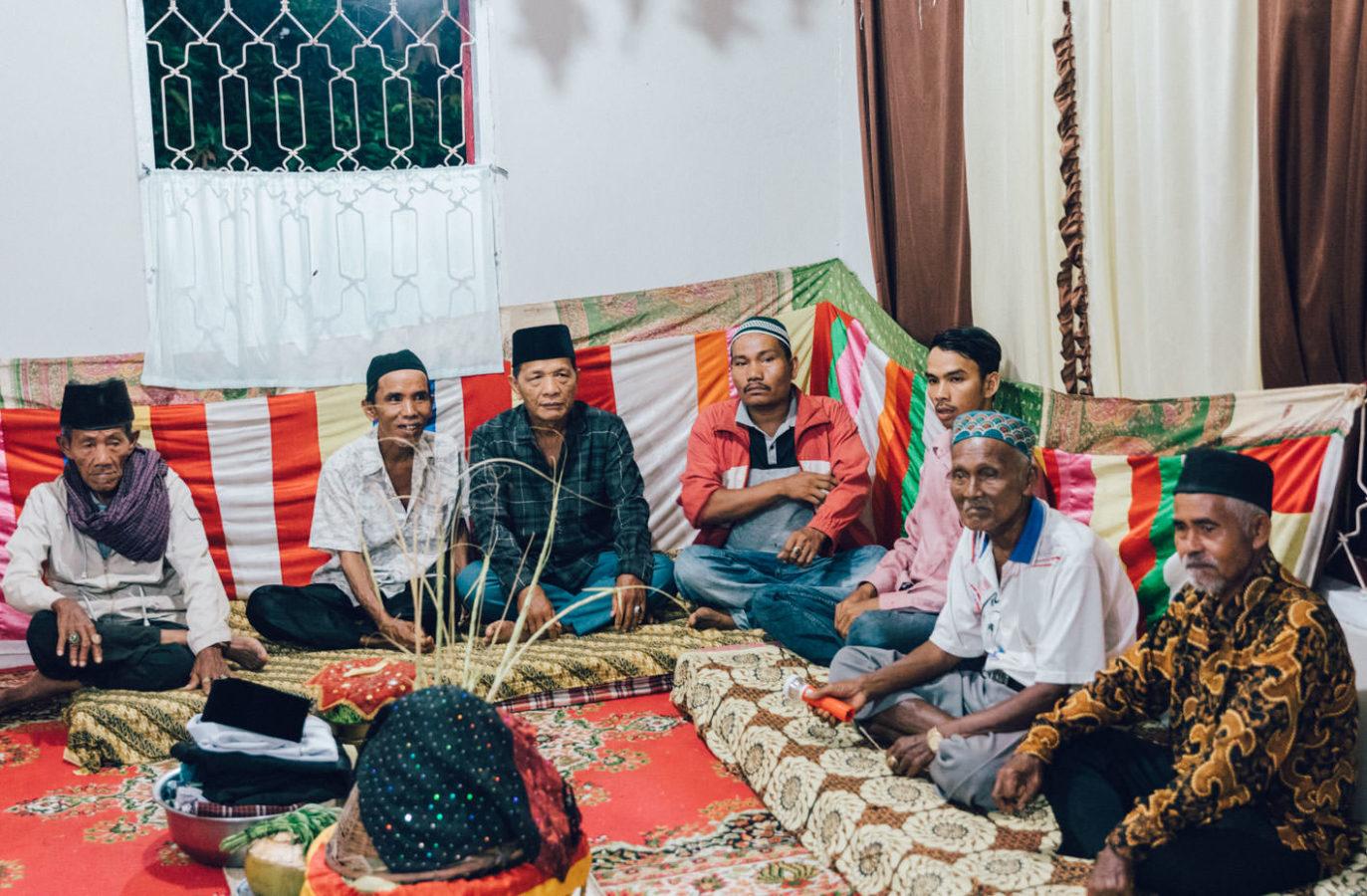 Muslimische Hochzeit