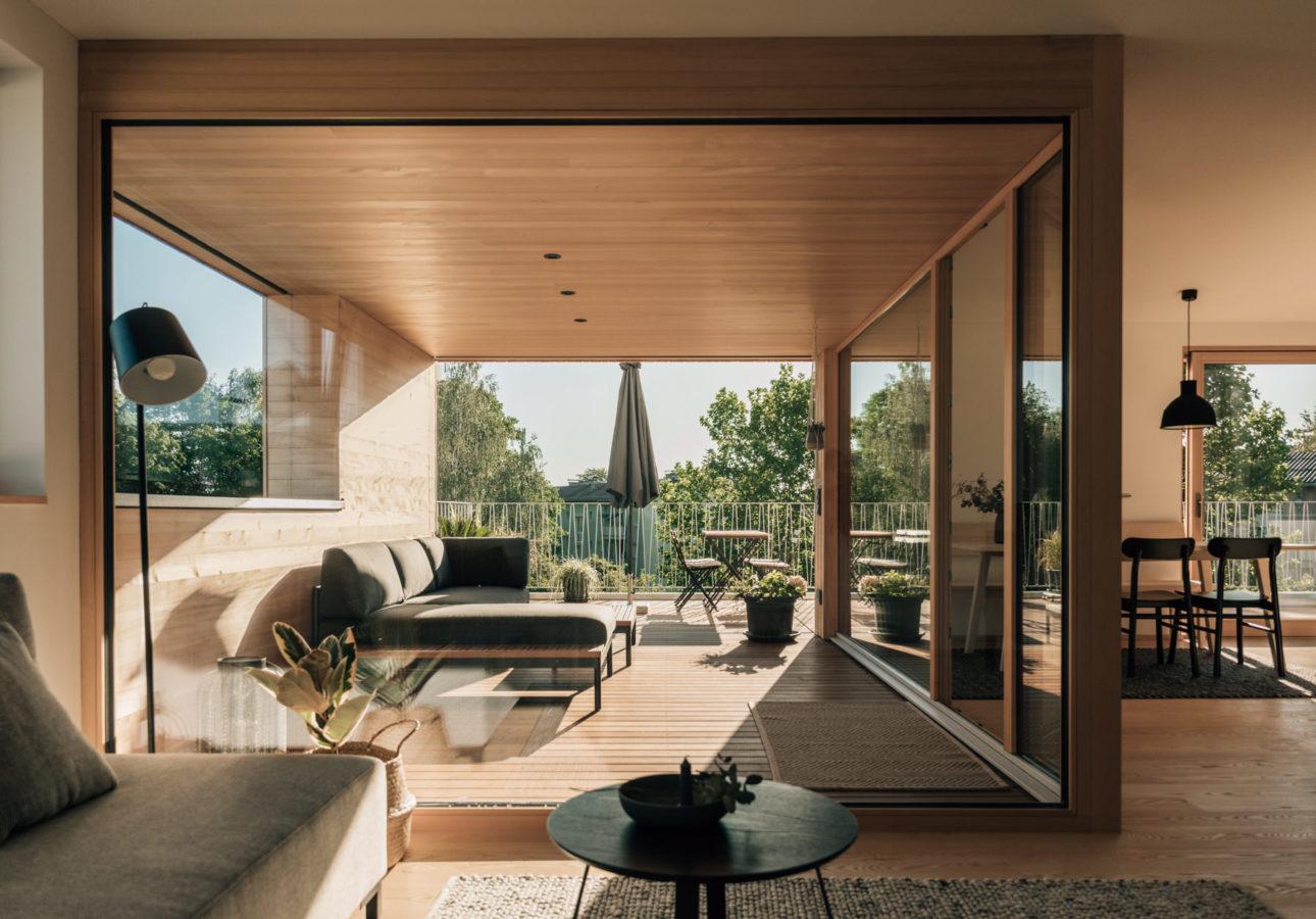 Neumodische Architektur Vorarlberg